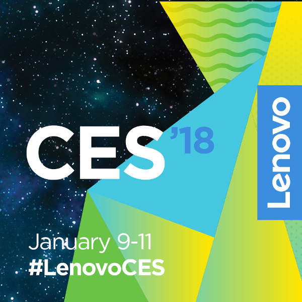 From Pocket to PC to Home: Lenovo's CES 2018 Lineup Makes