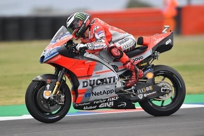 Lenovo-Sponsored Ducati Team Motors into First Place at Catalan GP