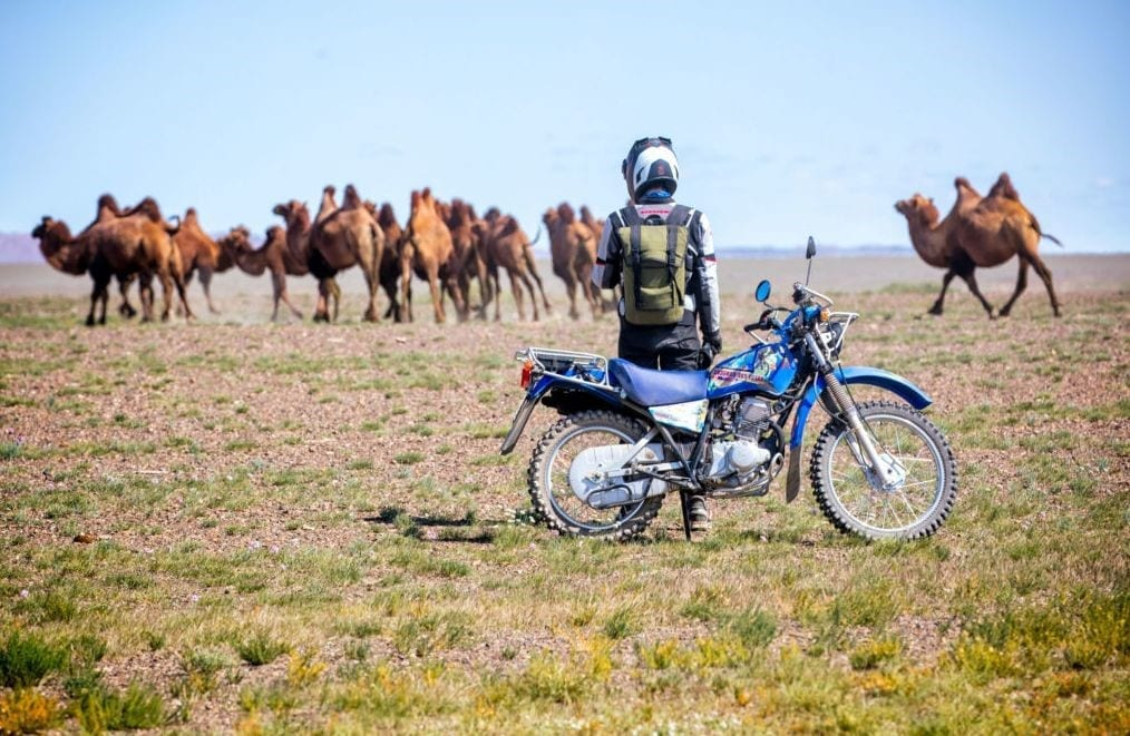 A Daring Two-Wheeled Journey to the Edge of the Earth