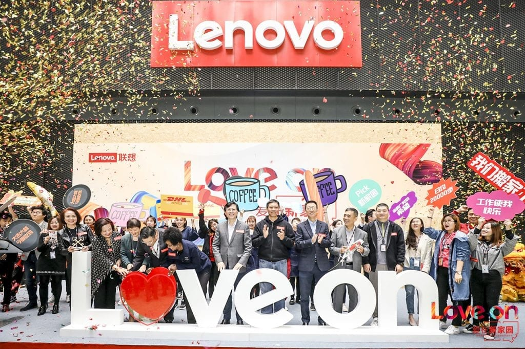 "Lenovo Employees Pledge to ""Love On"" and Celebrate Community"