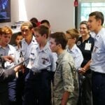 Lenovo Hosts Civil Air Patrol Cadets Exploring STEM Careers