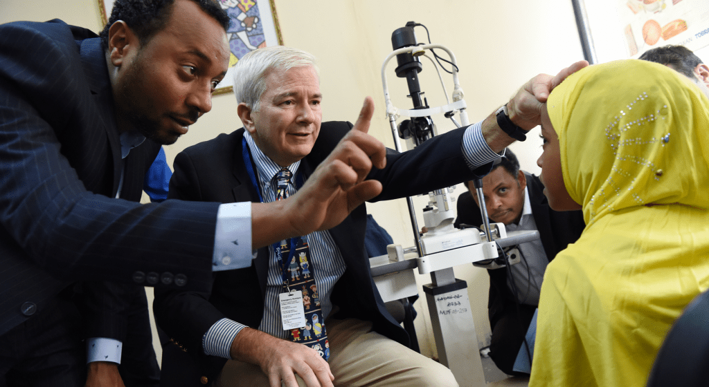 Providing the Gift of Sight through Training and Technology
