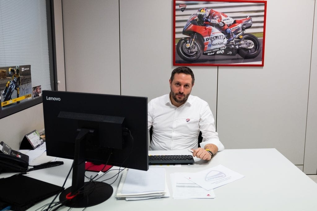 A Ducati-Lenovo Partnership Made in the Fast Lane