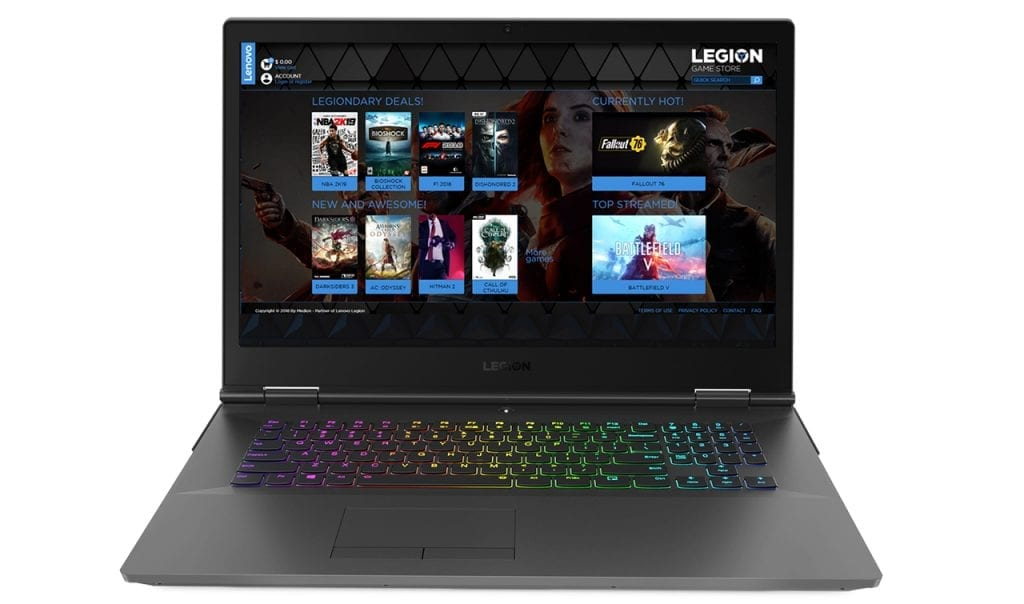 New Lenovo Legion Game Store is Available Online on Cyber Monday