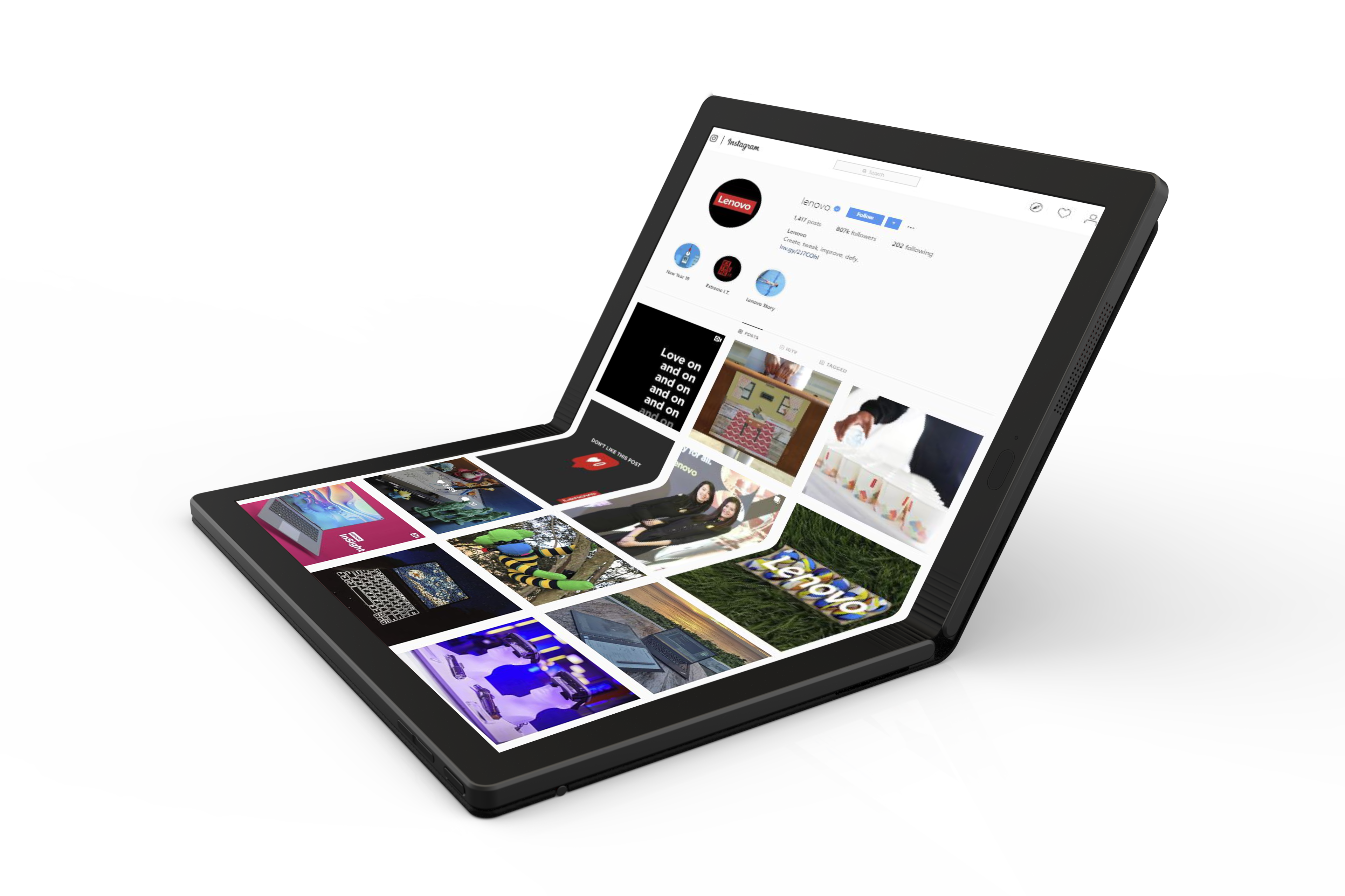 Lenovo Unveils Preview Of The World S First Foldable Pc In Thinkpad X1 Family Lenovo Storyhub