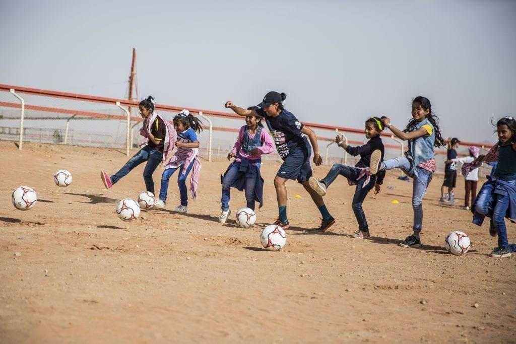 Sabrine Mamay at the Jordan camp by @DanaRoesiger