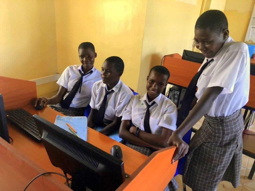 WISER computer lab, Kenya