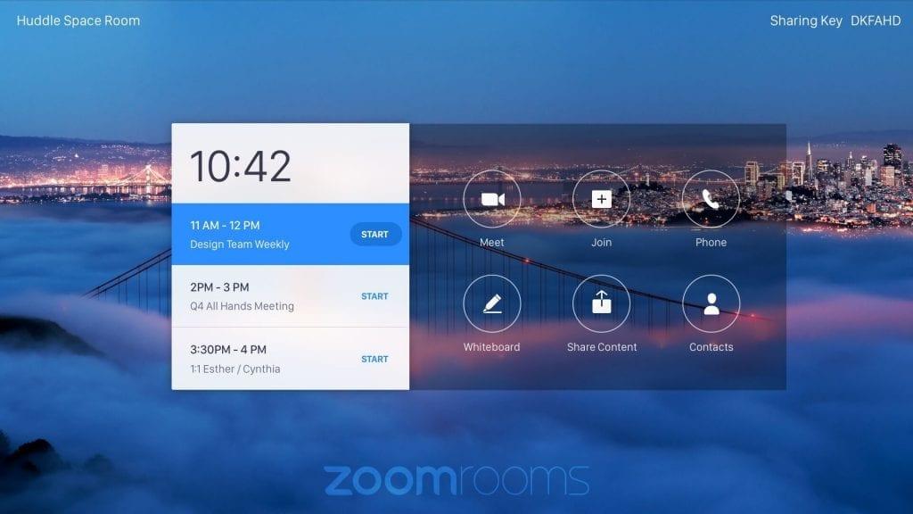 Zoom Room Smart Office