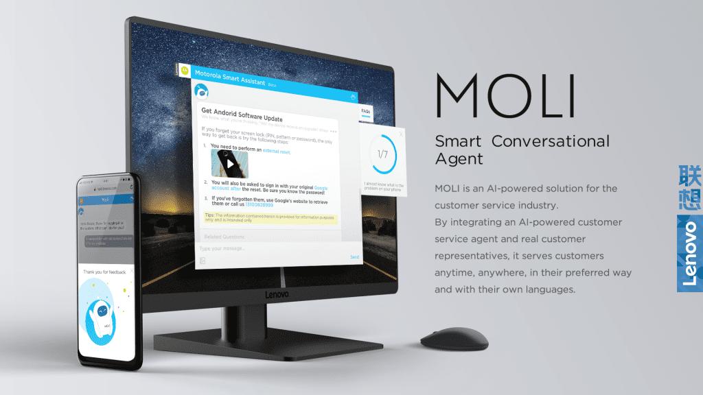 MOLI smart conversational agent