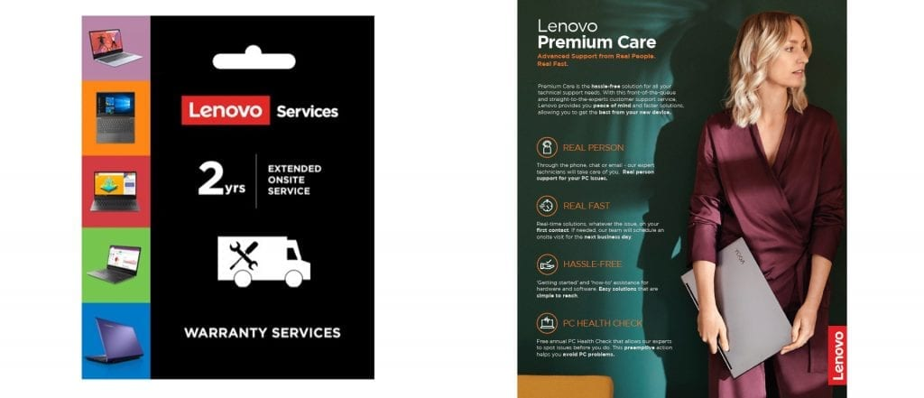 Lenovo Premium Care services