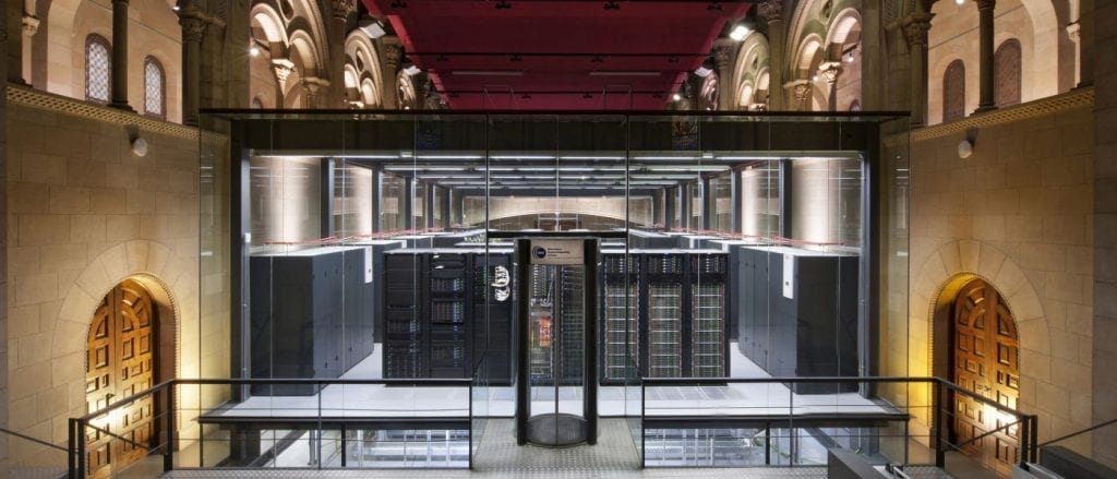 Barcelona supercomputer MareNostrum