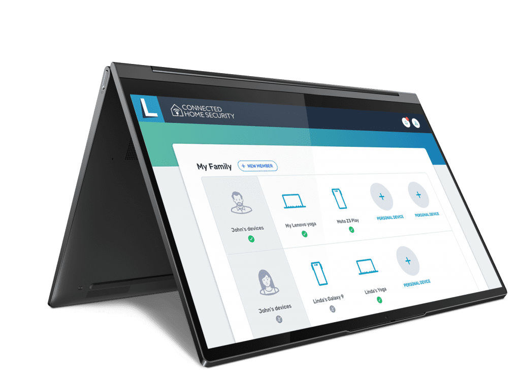 Lenovo Connected Home Security