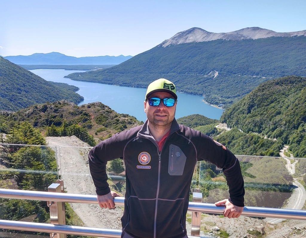 Vitalie Palanciuc in Tierra del Fuego