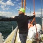 Vitalie Palanciuc setting sail to Antarctica