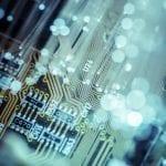 Lenovo brand image - circuitry detail