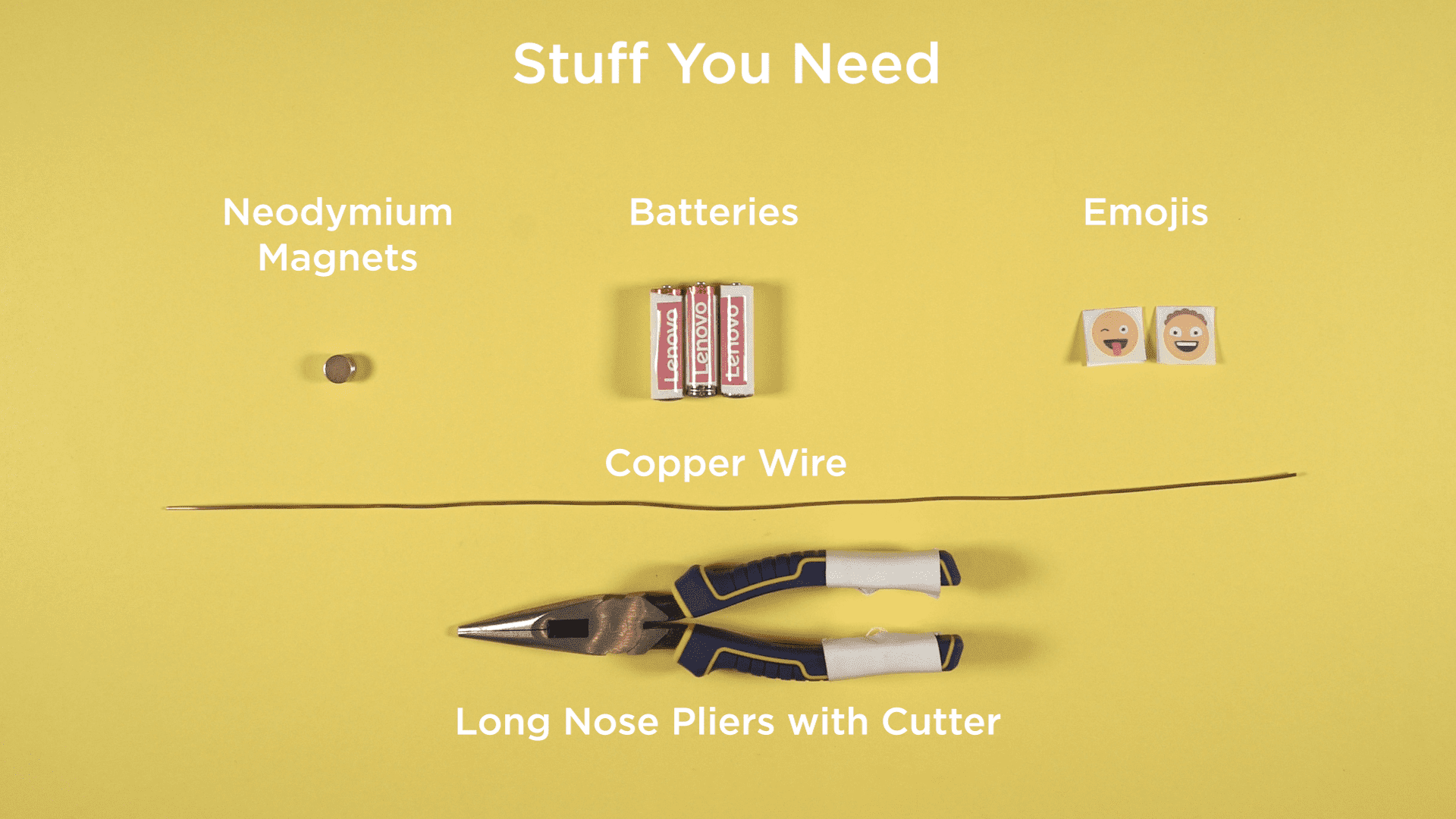 Tiny Dancer: Stuff you need