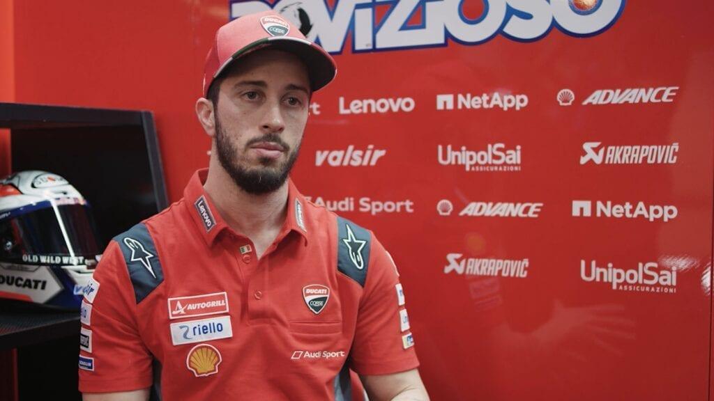 MotoGP Rider Andrea Dovizioso