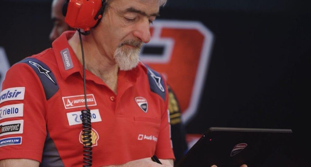 """Ducati Corse's General Manager, Luigi """"Gigi"""" Dall'Igna"""