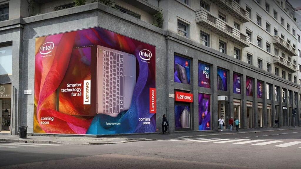 Lenovo's First Concept Store in Milan