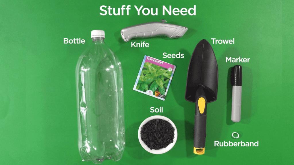 Mini Greenhouse - Stuff You Need