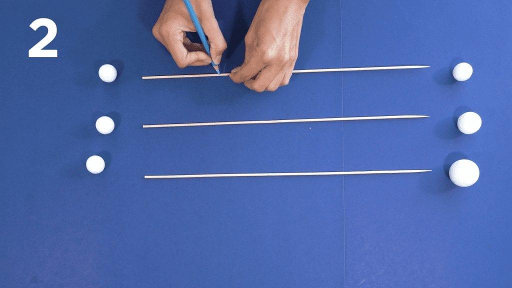 STEM at Home: Kinetic Sculpture 2 sticks and balls