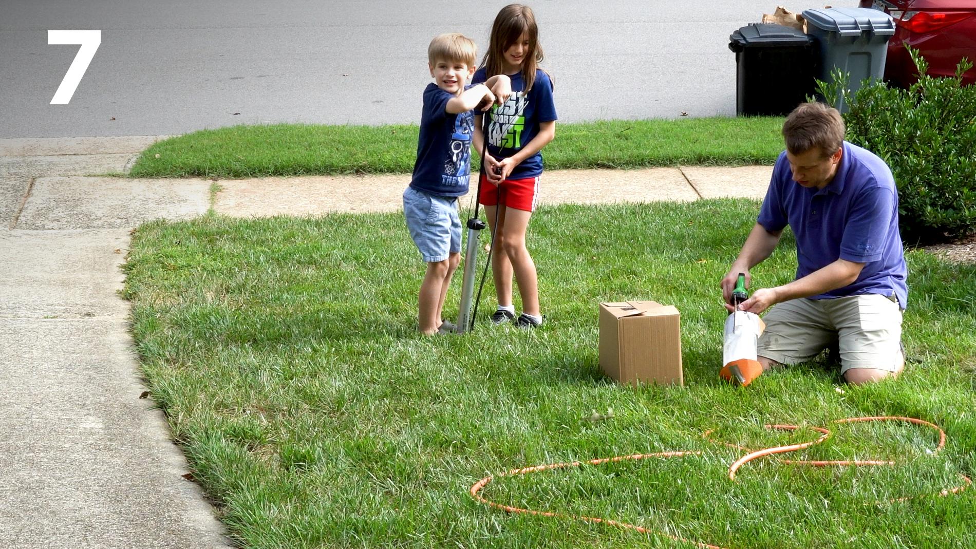 STEM at Home: Bottle Rocket 7