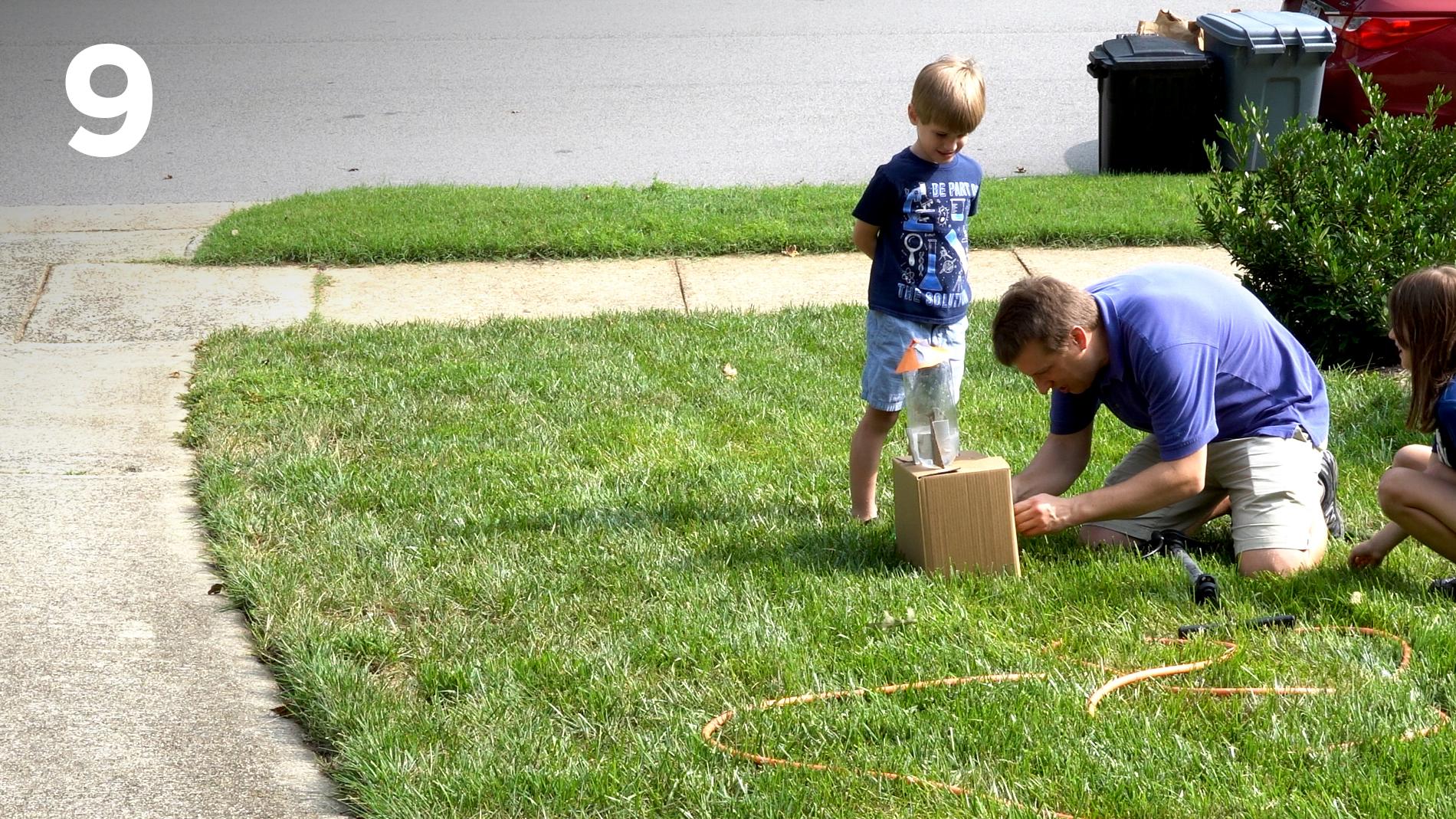 STEM at Home: Bottle Rocket 9