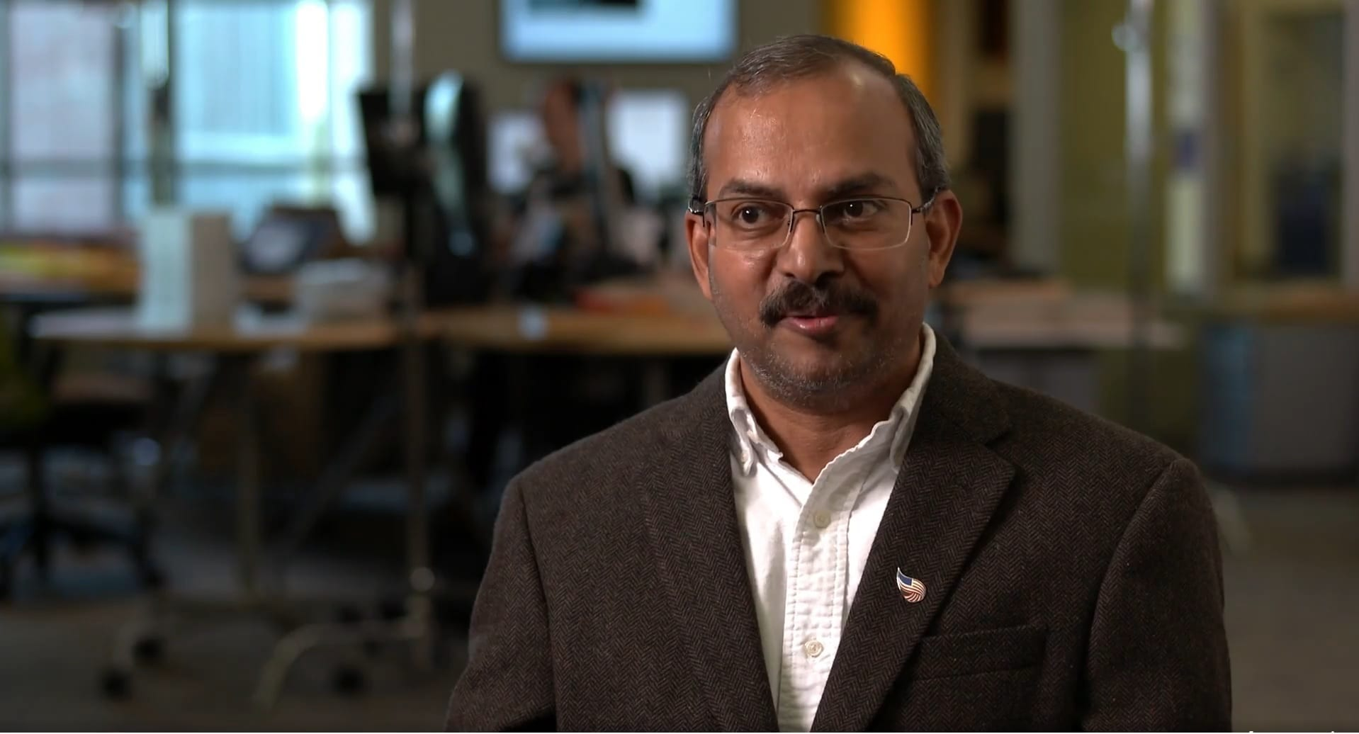 Dr. Ranga Raju Vatsavai, an associate professor in computer science at North Carolina State University and the associate director of the Center for Geospatial Analytics