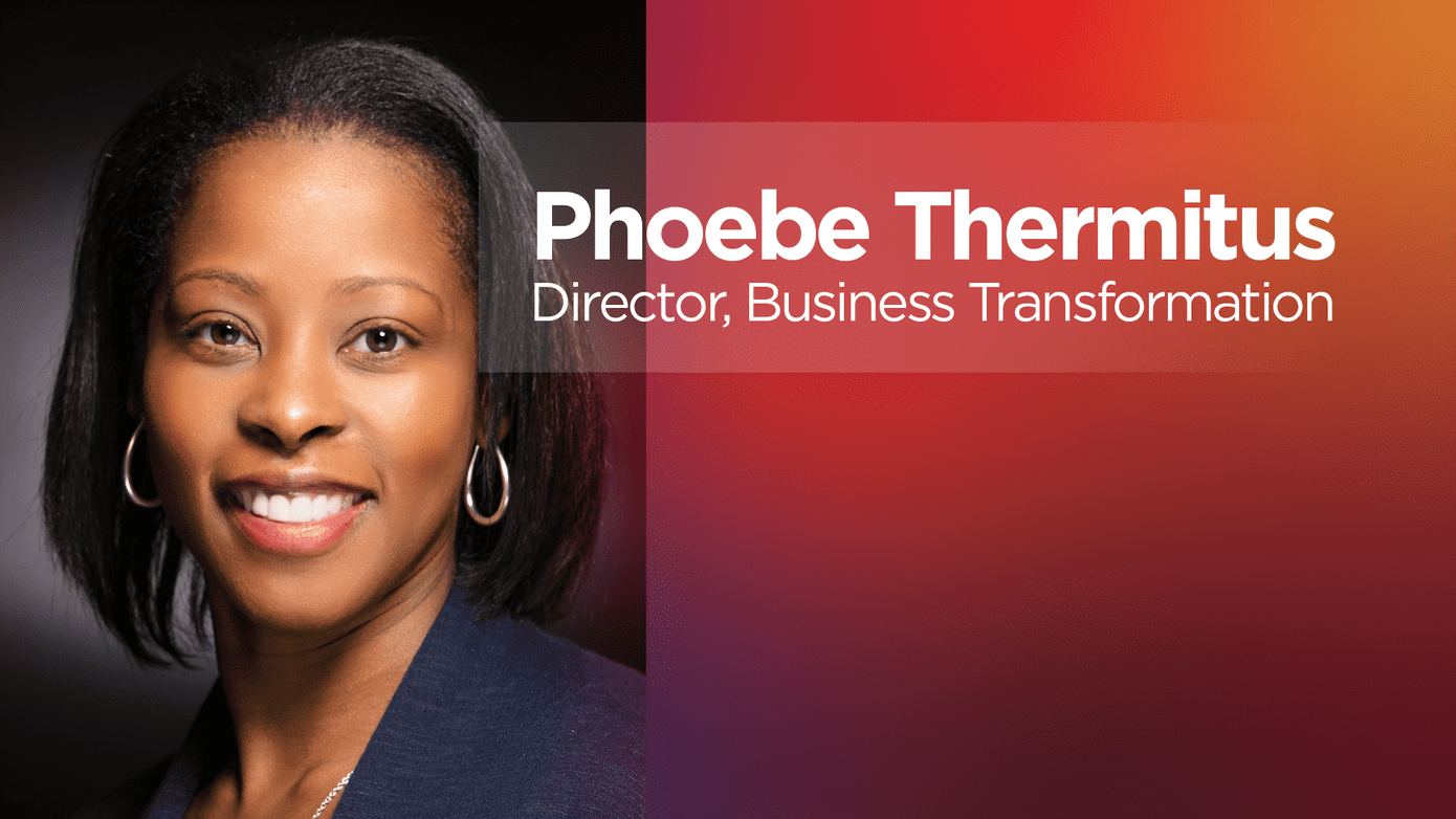 Phoebe Thermitus, Lenovo Director of Business Transformation