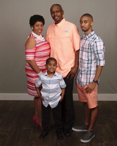 Felicia Adams Lenovo CIoT and family
