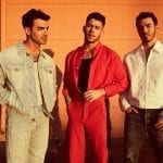 Jonas Brothers standing together