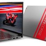 Open profile and closed profile look at the Lenovo Ducati 5