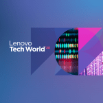 Lenovo Tech World 2020 banner