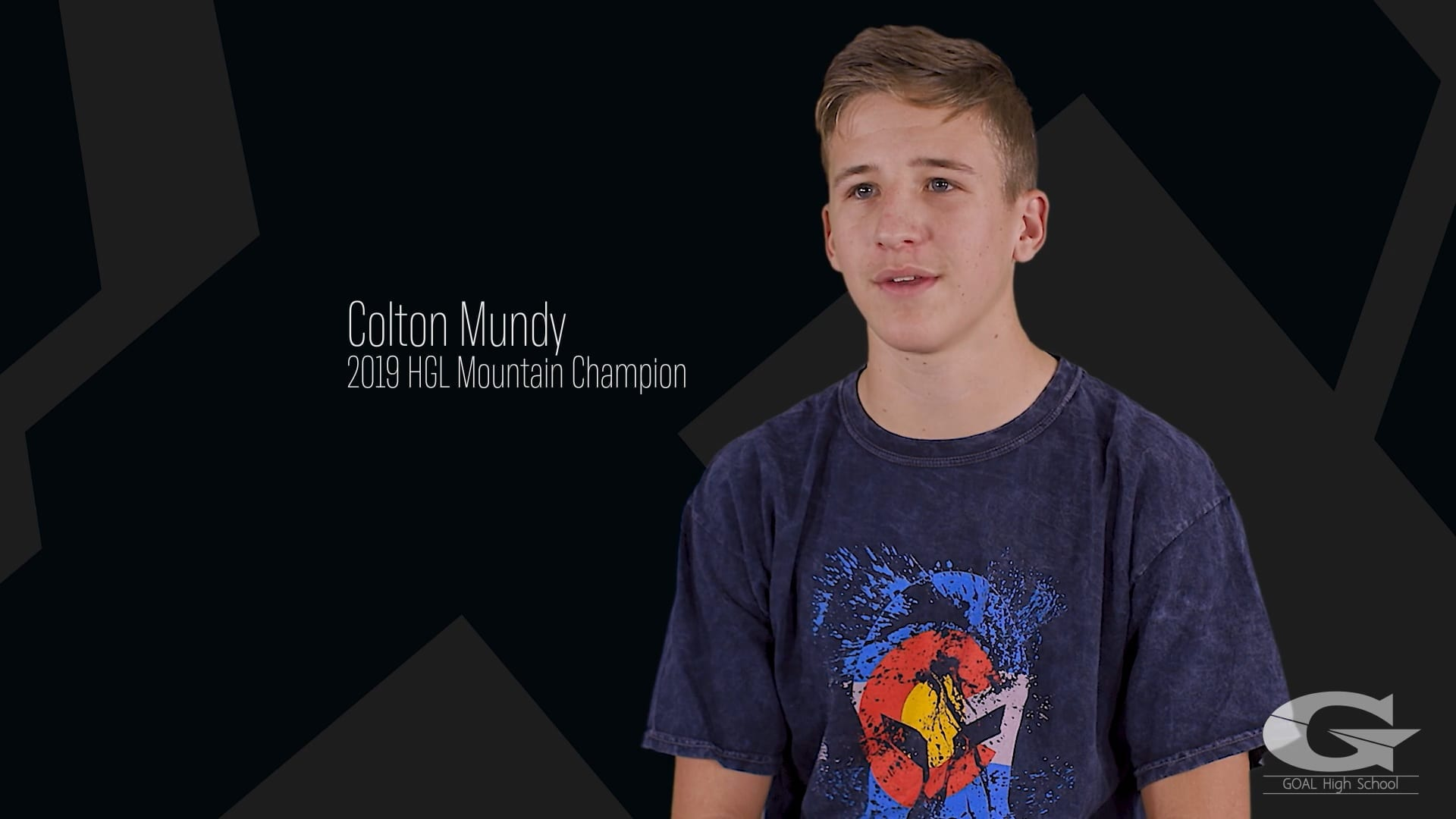 Colton Mundy, 2019 HGL Mountain Champion