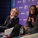 Lenovo's Fiona O'Brien speaking at Women's Forum 2019