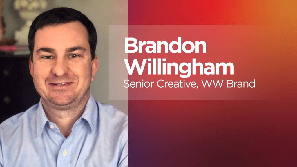 Brandon Wilingham - Senior Creative, Lenovo WW Brand