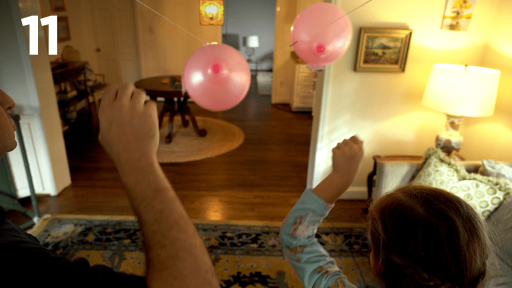 STEM at Home: Balloon Race 11