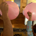 STEM at Home: balloon racers flying off