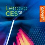 Lenovo CES 2021 stylized banner
