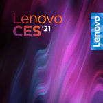 Lenovo CES 2021 stylized banner