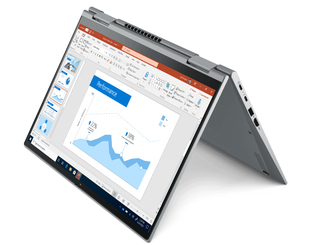 ThinkPad X1 Yoga G6 in modalità tenda
