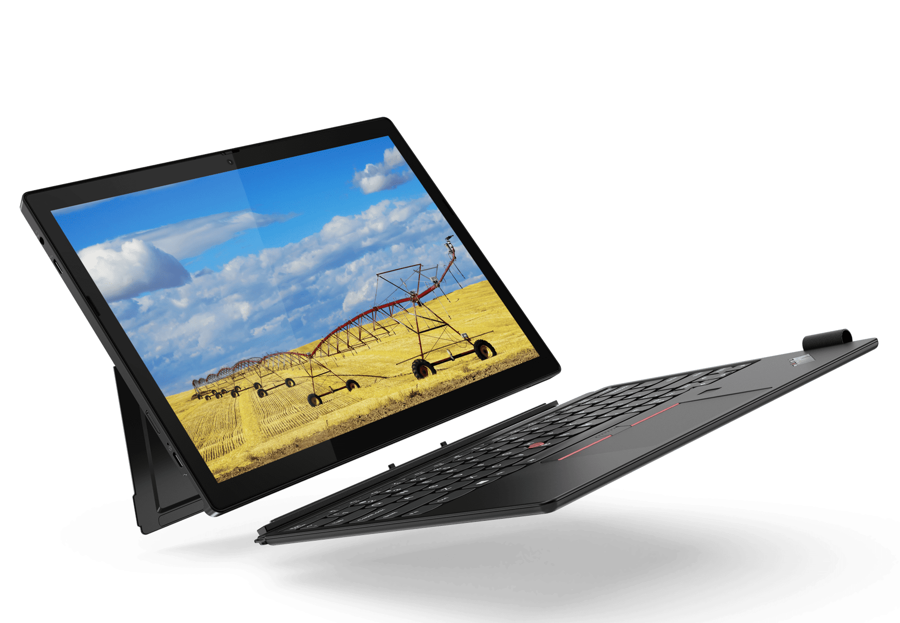 ThinkPad X12 Detachable with kickstand and keyboard