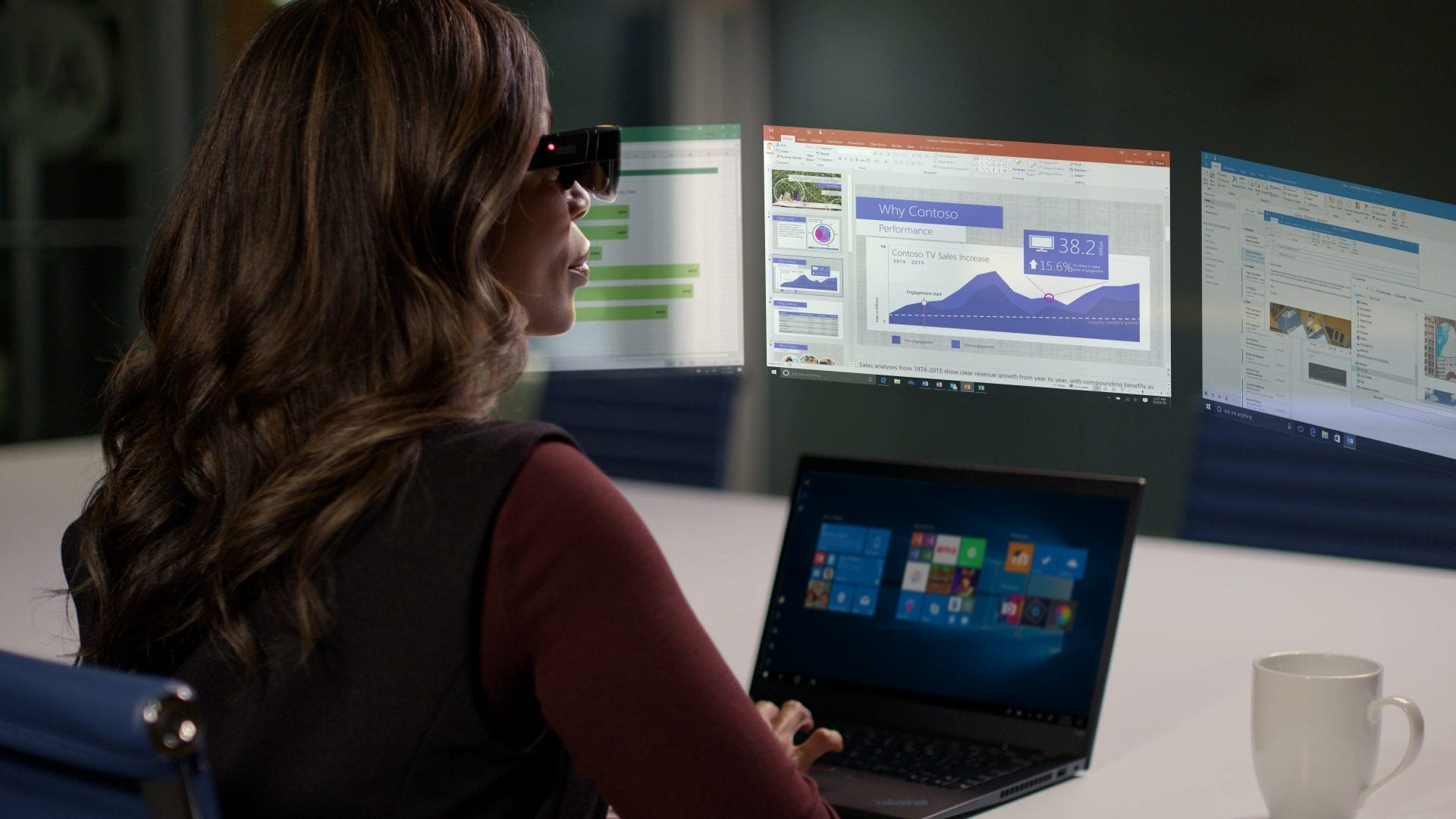 Lenovo ThinkReality A3 — óculos inteligentes