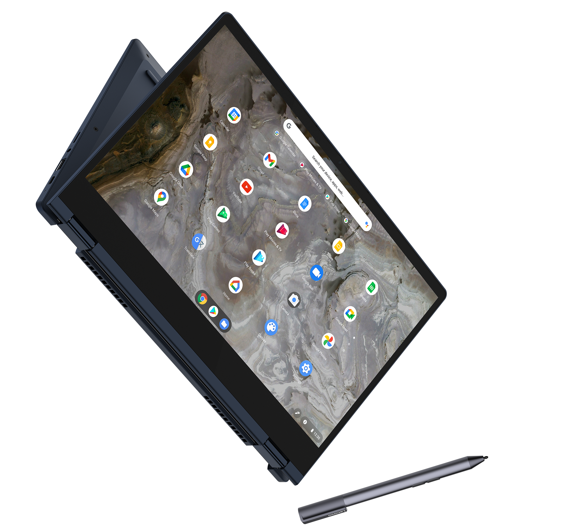 """The IdeaPad Flex 5i Chromebook (13"""", 6) in Abyss Blue"""