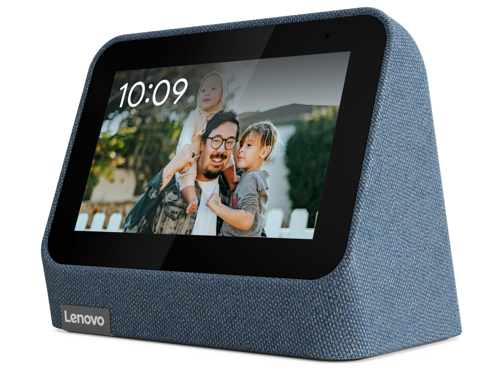 Eight-five percent of the plastic in the Lenovo Smart Clock 2 is made from recycled materials